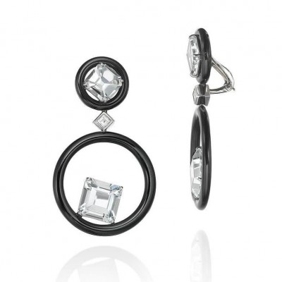 SEAN GILSON-earrings-platinum-goshenite