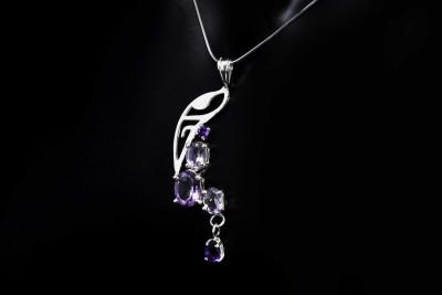 IRIATAI-collier-amethyste-argent-motif-océanien-création-unique-iriatai-nc