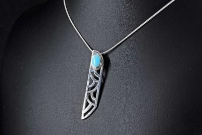IRIATAI-pendentif-collier-argent-turquoise-oceanie-