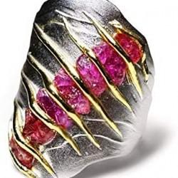 #GERMAN KABIRSK #Ring #Ruby #Rubis