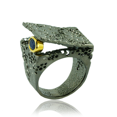 #GERMAN KABIRSK #Ring #Saphir #Sapphire