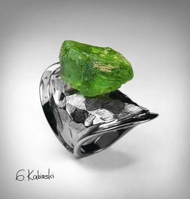#GERMAN KABIRSK #Ring #peridot