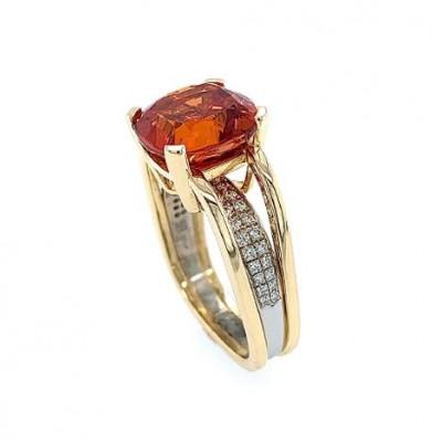 #JeanFrançoisAlbert #Garnet #spessartite #diamonds #ring