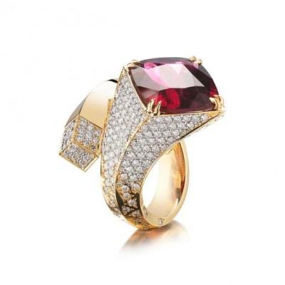 #PAOLO COSTAGLI #Rubellite #Diamonds