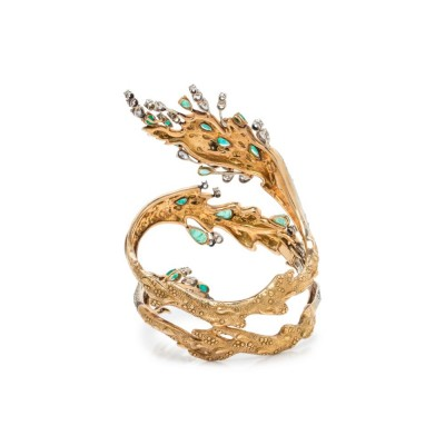 #ENRICO SERAFINI #Bracelet #Emerald #Emeraude #Diamonds #Diamant