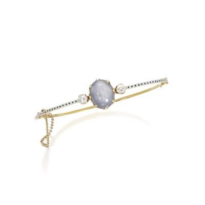 #CARLO GIULIANO #Sapphire #diamond #enamel #bangle