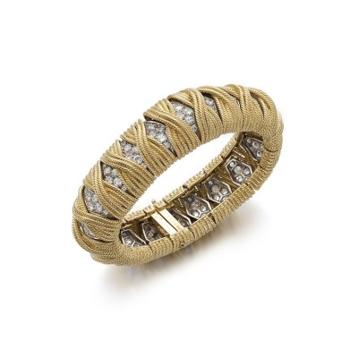 #MOVADO #Gold #diamond #bracelet watch