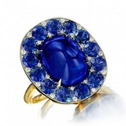 #SABBA #Ring #Sapphires #Diamonds #Ring