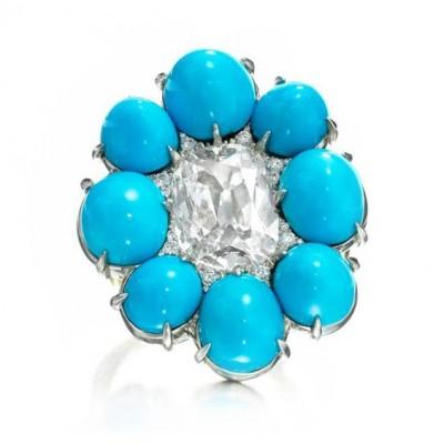 #SABBA #Ring #Turquoise #Diamond