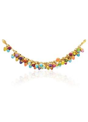 #TAMARA COMOLLI #Multi-Colored Gemstone #'Mikado Flamenco' Bracelet