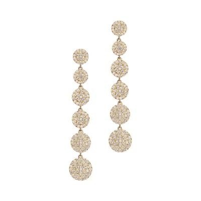 #GRAZIELA #cascade earrings #diamonds #Boucles d'oreilles #diamants