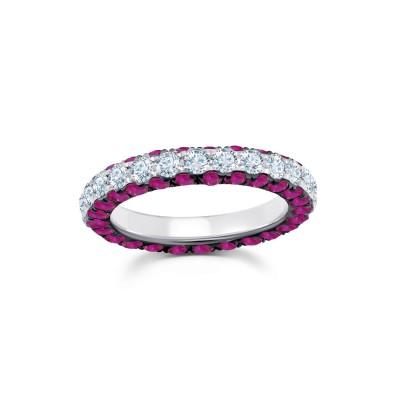 #GRAZIELA #ring #diamonds #rubies #diamants #rubis #bague