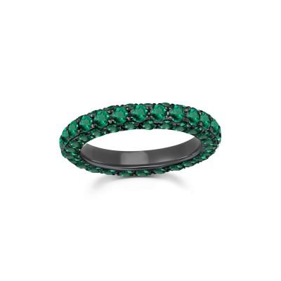 #GRAZIELA #ring #emerald #bague #émeraude