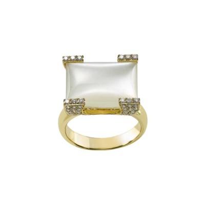 #PICO #Moonstone #Diamonds #ring #Pierre de Lune #Diamants #Bague