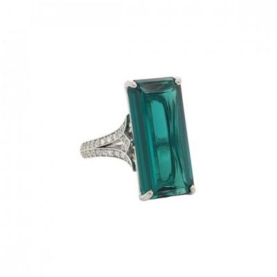 #PICO #Tourmaline #diamonds #ring