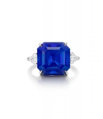 #Harry Winston #kashmir sapphire #diamonds