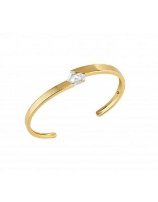 #NUUN #Bracelet #or jaune 18K #diamant kite cut #Yellow gold #Kite cut Diamond