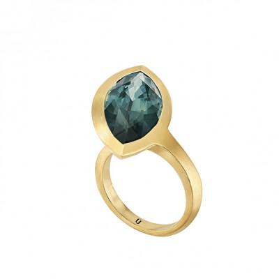 #NUUN #Ring #gold #sapphire #bague #or #saphir