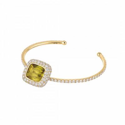 #NUUN #diamonds #gold #sphene #diamants#uniquepiece #wristcandy #collier
