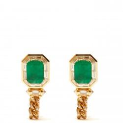 #SHAY #Necklace #Emerald #Diamond #Emeraude #Diamants #Collier