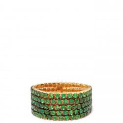 #SHAY #Ring #Grren Garnet Tsavorites